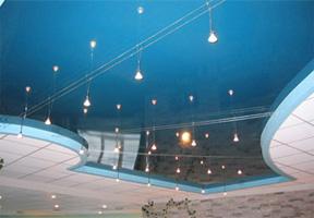 натяжные потолки цены фото