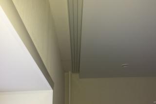 Натяжні стелі з нішею під гардину