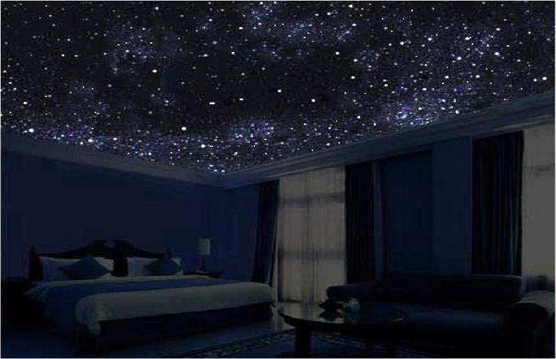 фото к новости: стильный потолок Звездное небо 1