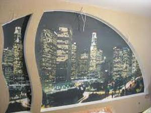 натяжные стены с фотопечатью фото-3