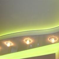 глянцевые натяжные потолки фото 2