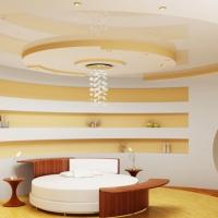 многоуровневые натяжные потолки фото 1