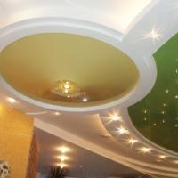 матовые натяжные потолки фото 3