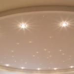 Новости. Точечные светильники для натяжных потолков фото 1