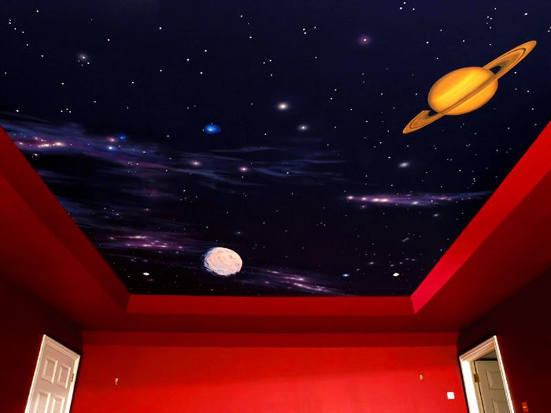 фото2: звездное небо натяжные потолки - potolkoff.kiev.ua