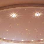 фото3: натяжной потолок звездное небо от swarovski - potolkoff.kiev.ua