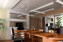 Modern interior of office, exclusive design