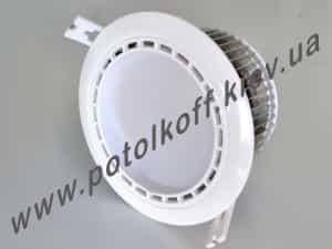 фото точечный Світлодіодний світильник DL-12 DW